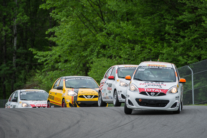 Coupe Nissan Micra Cup in Photos, MAY 27 - MAY 29 | CIRCUIT MONT-TREMBLANT, QC - 11-1706231319520
