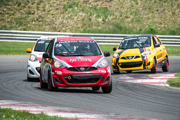 Coupe Nissan Micra Cup in Photos, MAY 27 - MAY 29 | CIRCUIT MONT-TREMBLANT, QC - 11-1706231319530