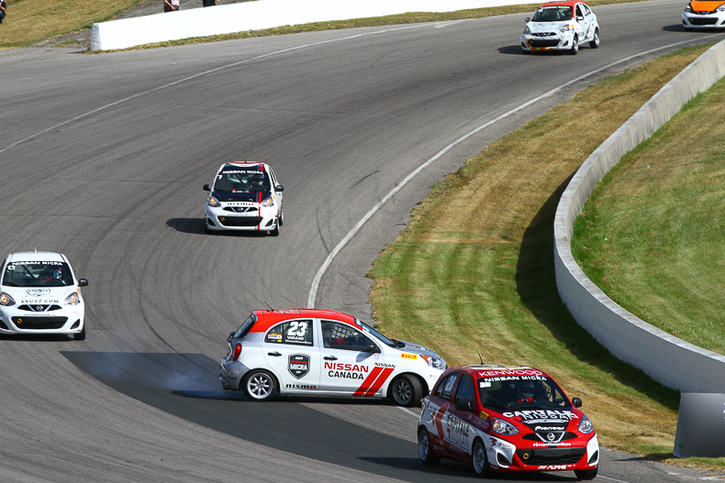 Coupe Nissan Micra Cup in Photos, JULY 7 - JULY 10 | CANADIAN TIRE MOTORSPORT PARK, ON - 13-1706231322070