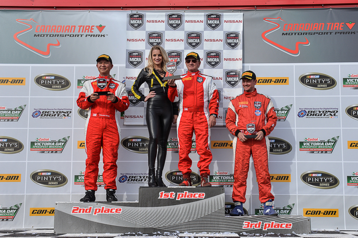 Coupe Nissan Micra Cup in Photos, MAY 19 - MAY 21 | CANADIAN TIRE MOTORSPORT PARK, ON - 19-1706231330210