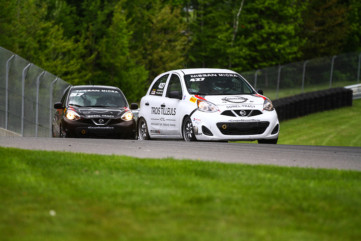 Coupe Nissan Micra Cup in Photos, MAY 26 - MAY 28 | CIRCUIT MONT-TREMBLANT, QC - 20-1706231331160