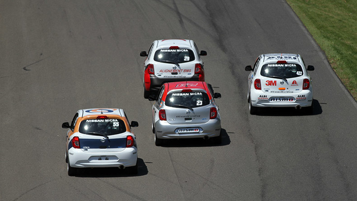 Coupe Nissan Micra Cup in Photos, MAY 22 - MAY 24 | CIRCUIT MONT-TREMBLANT - 3-170623130342
