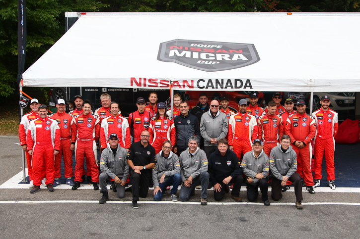 Coupe Nissan Micra Cup in Photos, SEPTEMBER 21-23 | CIRCUIT MONT-TREMBLANT, QC - 33-180924150400