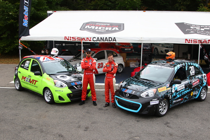 Coupe Nissan Micra Cup in Photos, SEPTEMBER 21-23 | CIRCUIT MONT-TREMBLANT, QC - 33-180924150406
