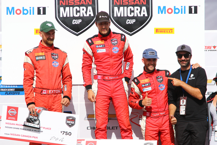 Coupe Nissan Micra Cup in Photos, August 24-25 | CANADIAN TIRE MOTORSPORT PARK, ON - 38-190827205721