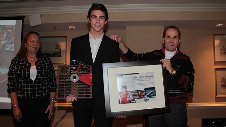 Coupe Nissan Micra Cup in Photos, OLIVIER BÉDARD AWARDED PRESTIGIOUS GILLES-VILLENEUVE TROPHY - 9-170623131023